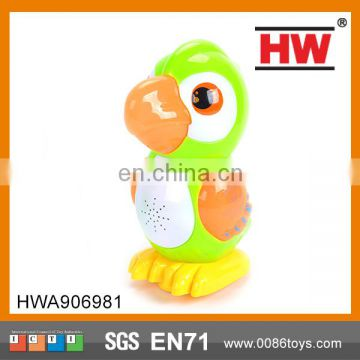 Electric Parrot with Light and Music Children Electric Toy