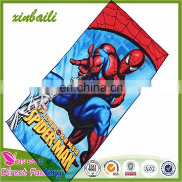Best Seller Cartoon design Reactive Printing Microfiber Beach Towel