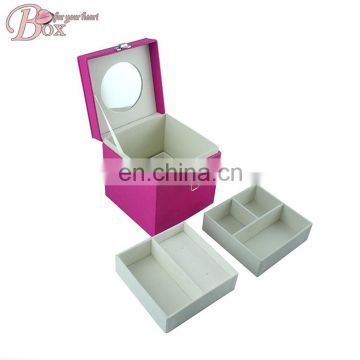 Girl Jewelry Magic Pink Box with Lock