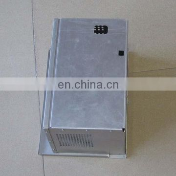 Metal sheet fabrication electronics enclosure EMI shielding chassis