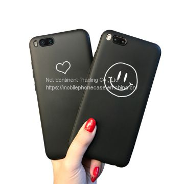Soft Gel Candy Color TPU Case For XIAOMI Mi 6 Mobile Phone Case Back Cover Silicone Surface Matt