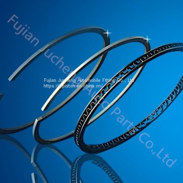 Piston rings for motorcycle engine