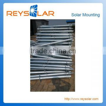 Solar Energy System Aluminum Open Field Corrosion Resistance Ground Screw/ Solar Photovoltaic Pilling Archors