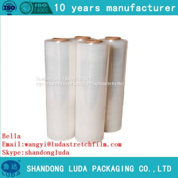 various customized handmade LLDPE packaging Stretch wrap film roll production process