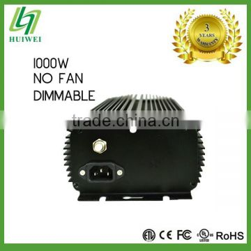 Hydroponic High QualityLight Ballast FCC 1000W Dimmable Without Cooling Fan Original Manufacturer