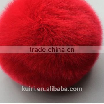 5-12cm rabbit fur pompoms / rabbit fur pom poms / rabbit fur pompons keychain