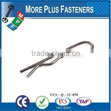 Made in Taiwan Stainless Steel Zinc Plated Non-Towing Hitch Pin Clip