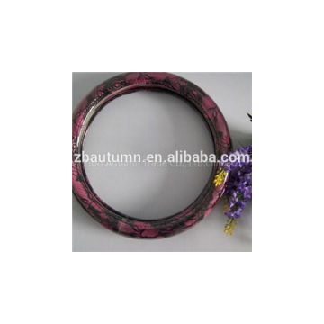 Pink Lace Steering Wheel Cover