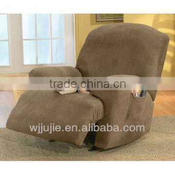 stretch suede recliner chair arm covers