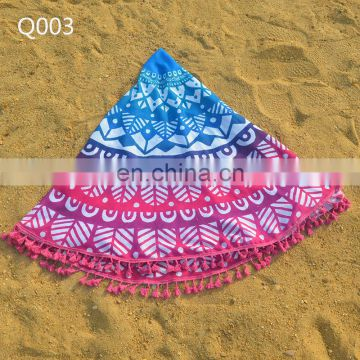 New design microfiber beach towel 2017