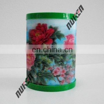 Factory peice 3d lenticular single pencil holder