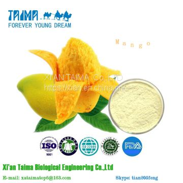XI'AN TAIMA best price Mango Fruit Powder,Mango Freeze Dried Powder,Instant Mango Juice Powder