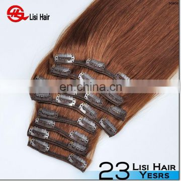 New Arrival Brand Name cheap 160g 180g 200g double drawn remy wholesale remy one piece clip hair extensions