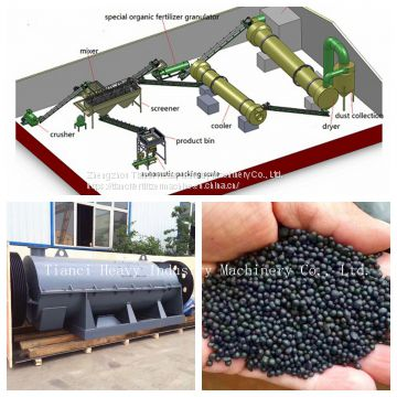 Organic Fertilizer Granulating Production Line