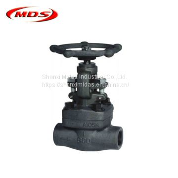 forged steel bolted bonnet a105 40 inch gate valve 800lb
