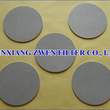 Sintered Powder Filter Disc