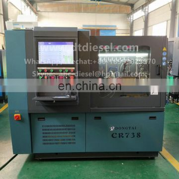 CR738 Common rail test bench can test EUI/EUP with CAM BOX