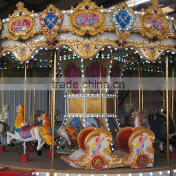 16 seats amusement park ride hot sale product carousel,carousel horse rides                                                                         Quality Choice