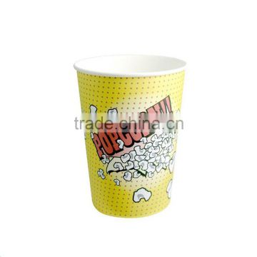 Popular Big 32oz Disposable Paper Cups Popcorn Cup