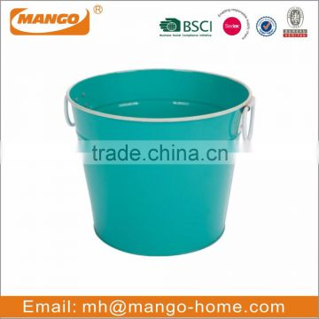Colorful Festival Decorative Metal Paint Bucket