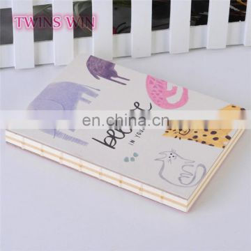 New arrivals 2018 china school stationery cheap custom cartoon paper notebooks writing pads for students