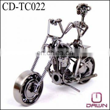 Home Decoration Moto Model Iron Cd Tc022 Of Craft From China