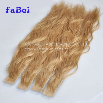 top quality human hair ombre color tape hair extensions
