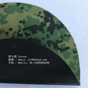 Camouflage Printed Hypalon Fabric for Military Vest of