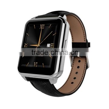 Top Heart Rate Bluetooth Smartwatch with Luxury leather band