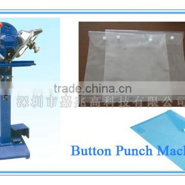 High Precision Automatic Plastic Snap Button / Punching Machine JZ-268 for Shenzhen Pvc Bag