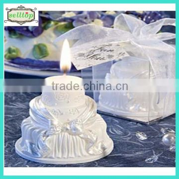 Hot Sell Cake Shape Candle Wedding Giveaways Philippines Quality Choice