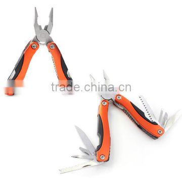 Warm Orange Multifunctional Plier With Spanner