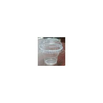 Clear Disposable Ice Cream Cups For Yogurt 150ml 5oz 70 Degrees