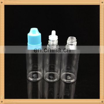 E cig juice liquid bottle empty bottles withtamper evident seal plastic e-liquid dropper bottle 10ml 30ml 15ml 50 for vape oil