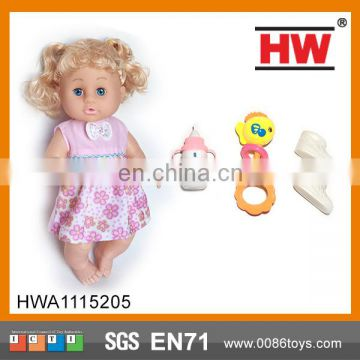 Battery Operated doll 14 Inches Empty Body Doll Baby Dolls