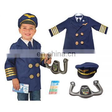 Aviator boys fine workmanship costume party cosplay clothes