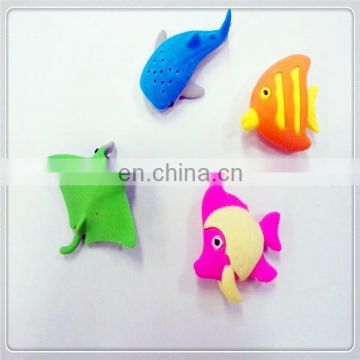 The undersea world puzzle erasers
