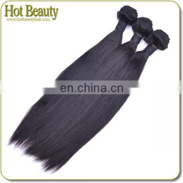 Excellent in quality yaki straight human hair weft