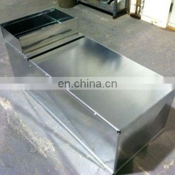 Custom High Quality 24G Support Box Outdoor Use Sheet Metal Stainless Steel Enclosure