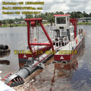 Land Reclamation 16m Deep River Dredging Equipment