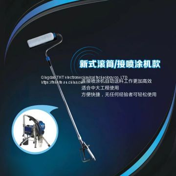 Airless Paint Sprayer Gun Pressure Roller Extension Pole For Titan Wagner Graco