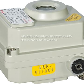 ZXEx series electric valve actuator 220V,DC24V