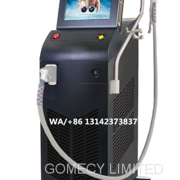 2019 Newest Ice Plus Soprano Titanium Laser Hair Removal platinum effective laser waxing machine