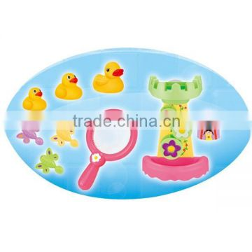 Baby bath toy animal , unique bath toys and wholesale funny education bath toys for kids duck baby bath toys