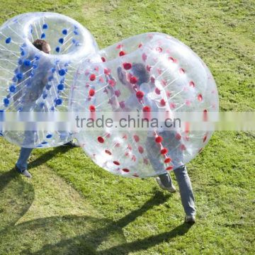 Hot Sale High Quality 100%TPU Inflatable Human Body Adult/kids body bubble ball inflatable bumper ball football