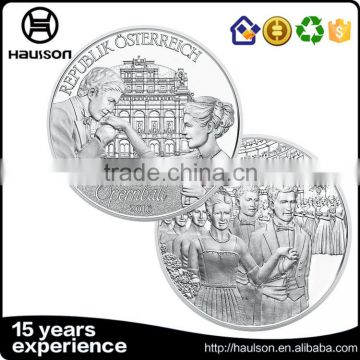 Metal crafts super quality die casting zinc alloy antique brass plating soft enamel marine corp challenge coin