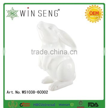 Ceramic rabbit give children the best Easter gift