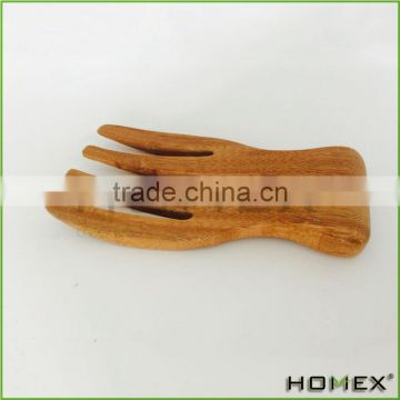 Bamboo Set of 2 Classic Salad Hands/Homex_BSCI