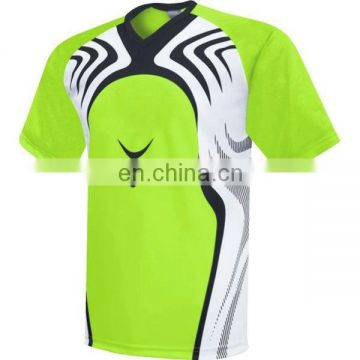 the latest 2017 polyester fabric sports jersey new model soccer shirt