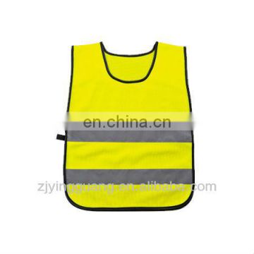 Safety Vest For Kids With Two Horizontal Hi-visibility Reflective Tape